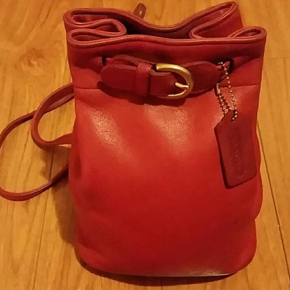 ff324c59a13c0 Coach Handbags - Leather Vintage Coach 4162 Backpack